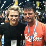 Paul Hanging with Hunter Hayes