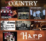 Boston Weekend with Radio Nashville – Friday 9/13 at The Harp & Saturday 9/14 Harvard Fallfest