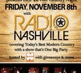 Friday November 8th Radio Nashville is Coming to Hoboken @ Willie McBrides, with NASH FM