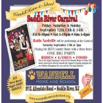 This Saturday, September 13th, Radio Nashville & friends will be playing the Saddle River Carnival at 3pm